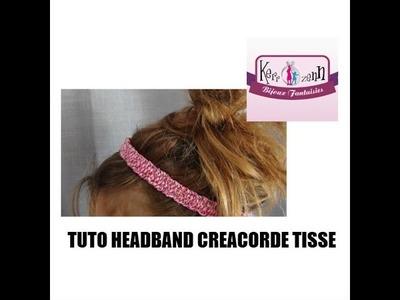 DIY headband CREACORDE