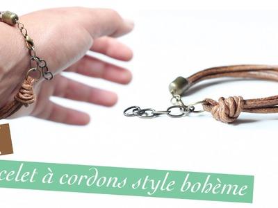 DIY # TUTO Bracelet à cordons au style bohème
