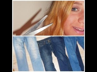 # DIY - vêtements - n°1 : 3 vieux jeans rénovés en SHORT.BERMUDA.PANTACOURT !