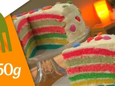Recette du Rainbow Cake - 750 Grammes