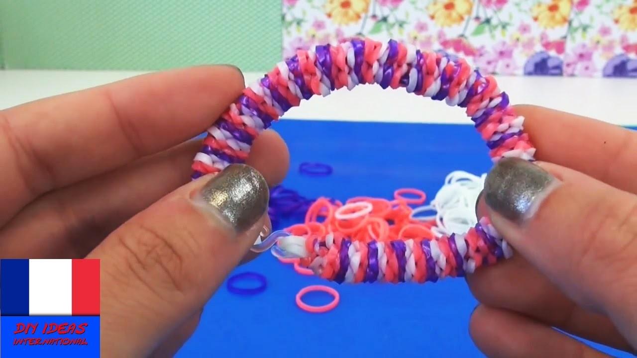 Bracelet loom Inside Out. Sans tablette. Avec fourchettes