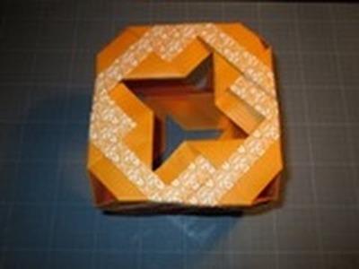 Comment réaliser un cube modulaire en papier(origami)?