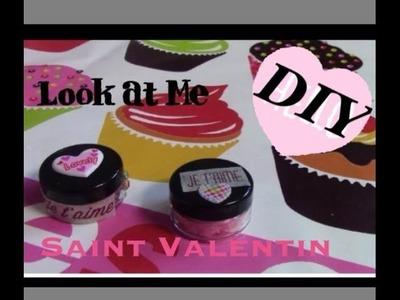 ♡ DIY #1 ♡ Cadeaux St Valentin _ Exfoliant lèvre Barbe à papa et exfoliant hydratant au Miel #1