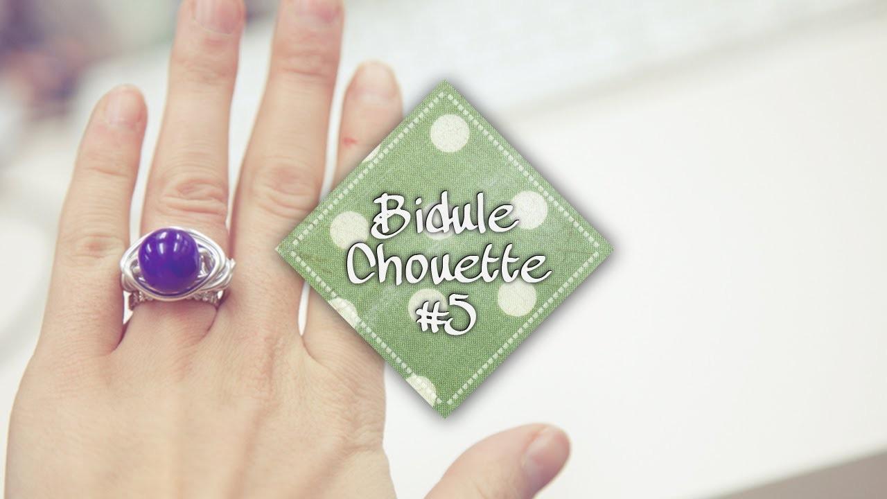 [DIY] Bidule Chouette #5 - Une jolie bague en aluminium