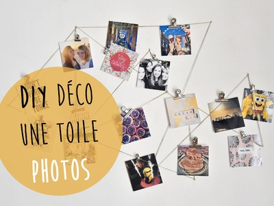 DIY DÉCO : toile photos (Instagram, Polaroïd. )