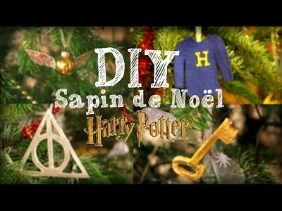 DIY - SAPIN DE NOEL HARRY POTTER