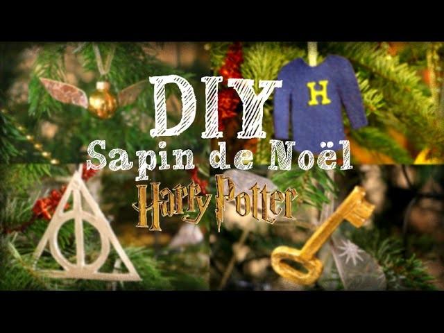 DIY - SAPIN DE NOEL HARRY POTTER