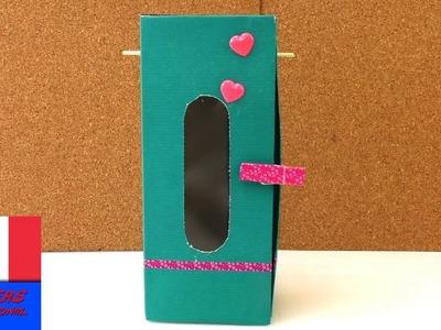 Fabriquer soi-même une armoire pour Barbie ou poupée. DIY avec matériaux simples. facile
