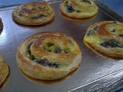 Les pains aux raisins - Apprendre la pâtisserie