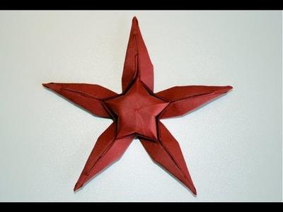Origami - Etoile de mer - Starfish [Senbazuru]