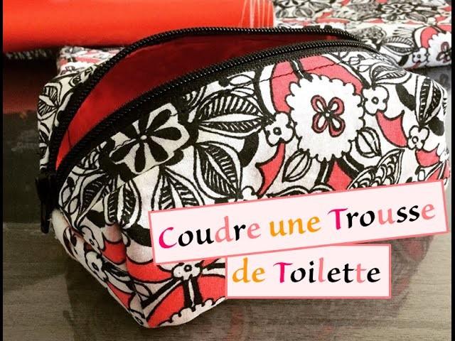 Tuto 24 - Couture - Coudre trousse de toilette IMPERMEABLE