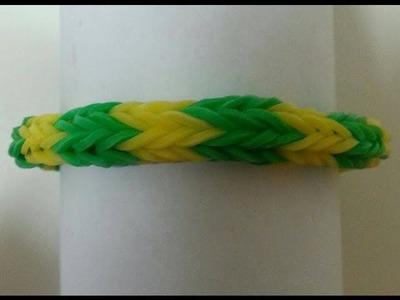 TUTO :  bracelet élastique rond (Loom Twister)