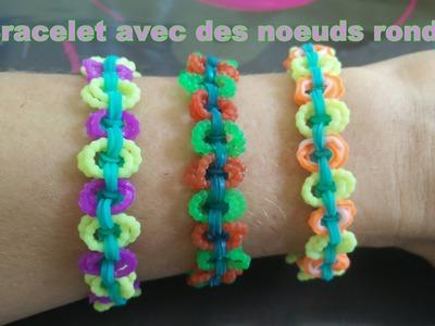 Tuto n°4: Bracelet élastique avec des noeuds ronds