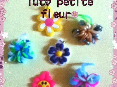 Tuto rainbow loom petite fleur (français)