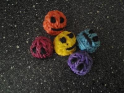 {Tuto} Smiley 3D en élastiques Rainbow Loom