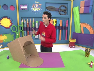 Art attack - Cache bols - Sur Disney Junior - VF