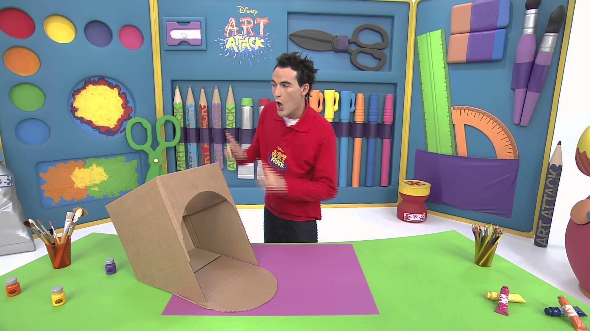 Art attack - Cache bols - Sur Disney Junior - VF