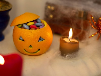 DIY Halloween - Orange à bonbons