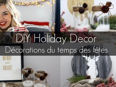 DIY Holiday Decor | DIY: décorations de noel [série du temps des fêtes]