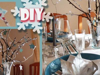 DIY Noël 2015 déco de table : idée originale et pas chère