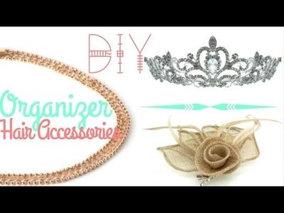 ✮ DIY ✮ Organisateur accessoires cheveux  | Caly Beauty