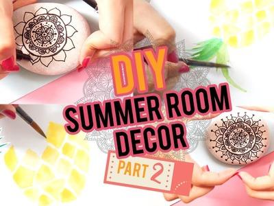 DIY: SUMMER ROOM DECOR PART#2