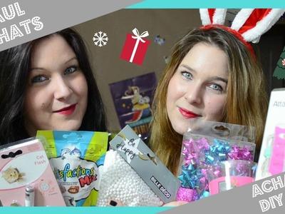 ➳ ❄ Encore des achats ! + Un DIY de Noel !!! ❄ : [ ♥ HAUL. ACHATS ♥ ]