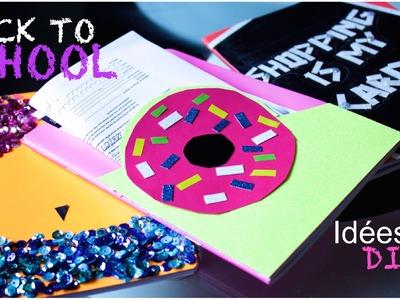 | BACK TO SCHOOL | D I Y | 3 idées pour créer des cahiers originaux