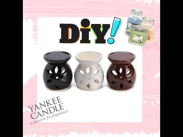 DIY #1 : Brûleur-tartelette Yankee Candle ♥ - Tart Warmer