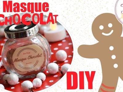 ✮ DIY ✮ Noel 2015 ✮ Masque gourmand Chocolat | Chocolate Mask | Caly Beauty