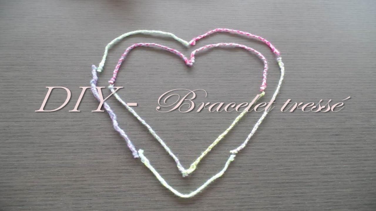 ♡ Léa & Laura - DIY Bracelet tressé ♡