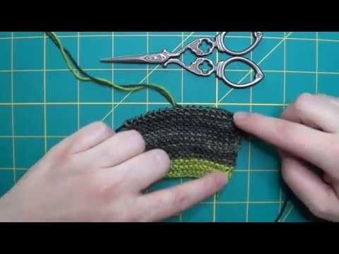 Tricot : Gestion des fils de plusieurs couleurs en lisière