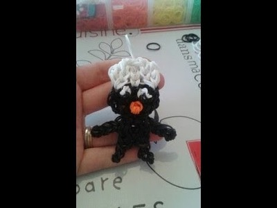Calimero. how to make calimero rainbow loom
