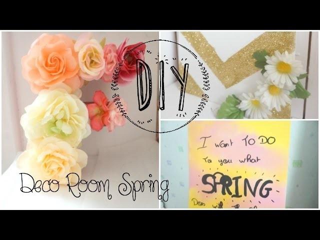 DIY ❤ Décore ta chambre pour le Printemps. Deco Room Spring I SBC