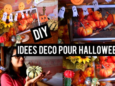 Tuto diy fleurs aquarell es botanique nature my crafts and diy projects - Idees pour halloween ...