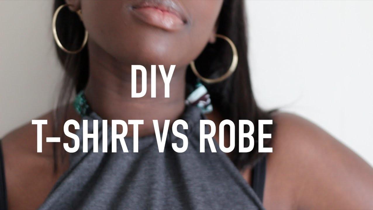 DIY T-SHIRT VS ROBE