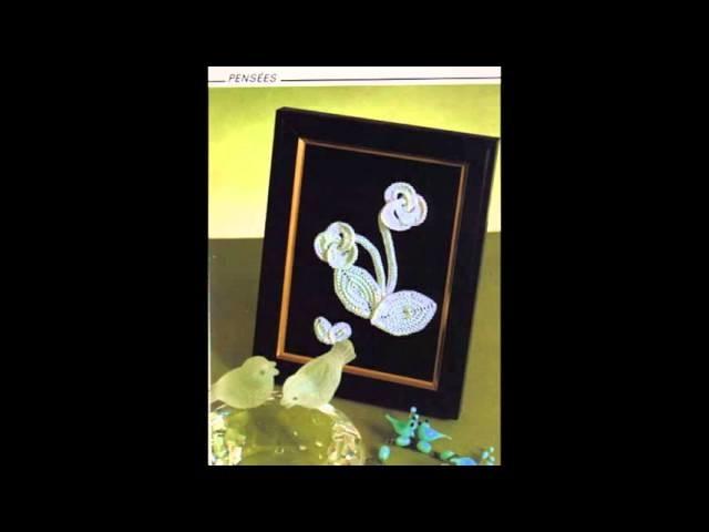 Fleurs au crochet idées, crochet flower idéas, أفكار لورود الكروشيه