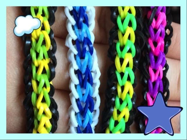 Loom #10 Bracelet Lacey (en français)(Rainbow Cra'Z Loom)