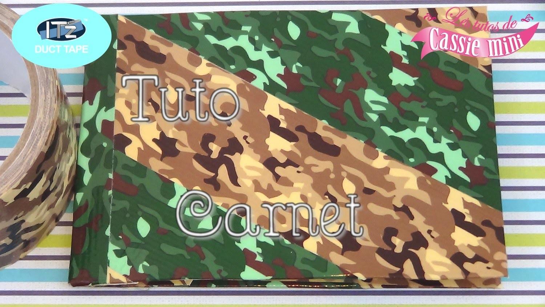 { Tuto } Carnet en IT'z DUCT TAPE. duct tape book
