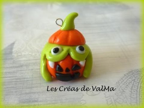Tuto Fimo Halloween Citrouille & Monstre Vert. Polymer Clay Tutorial
