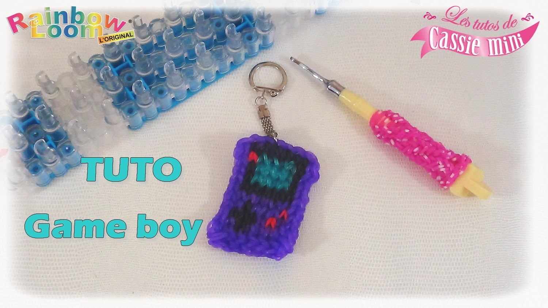 { TUTO } Game boy en élastique Rainbow loom
