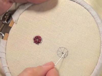 Broderie : Le point araignée - Les petites leçons de Marie Suarez