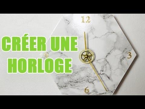 Créer une horloge vous-même - DIY avec youMAKEfashion