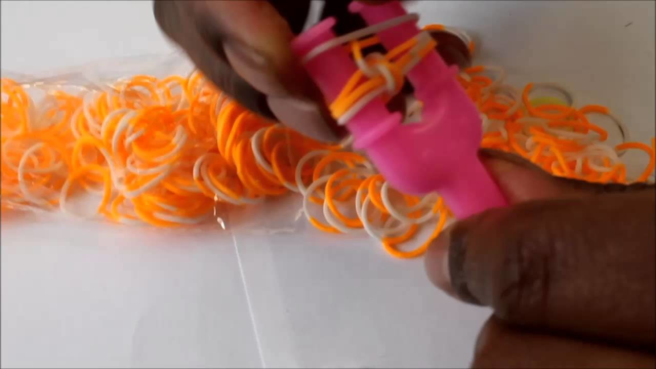 ✎ ✁ D.I.Y n°1 : Bracelet élastique - Rainbow Loom  ✎ ✃