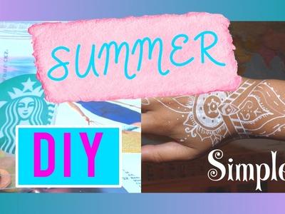 [DIY] 2 DIY trèèèès simples pour l'été!