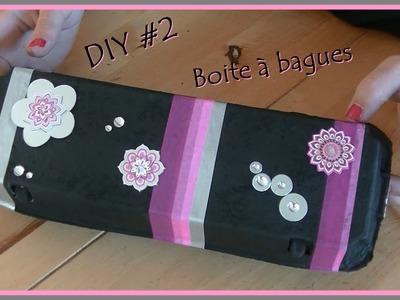 DIY #2 Une boite à bagues .