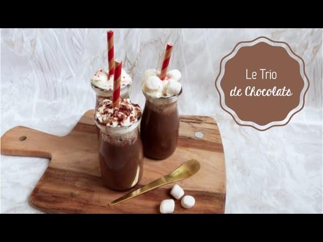DIY Cuisine ♡ Le Trio de Chocolats Chauds