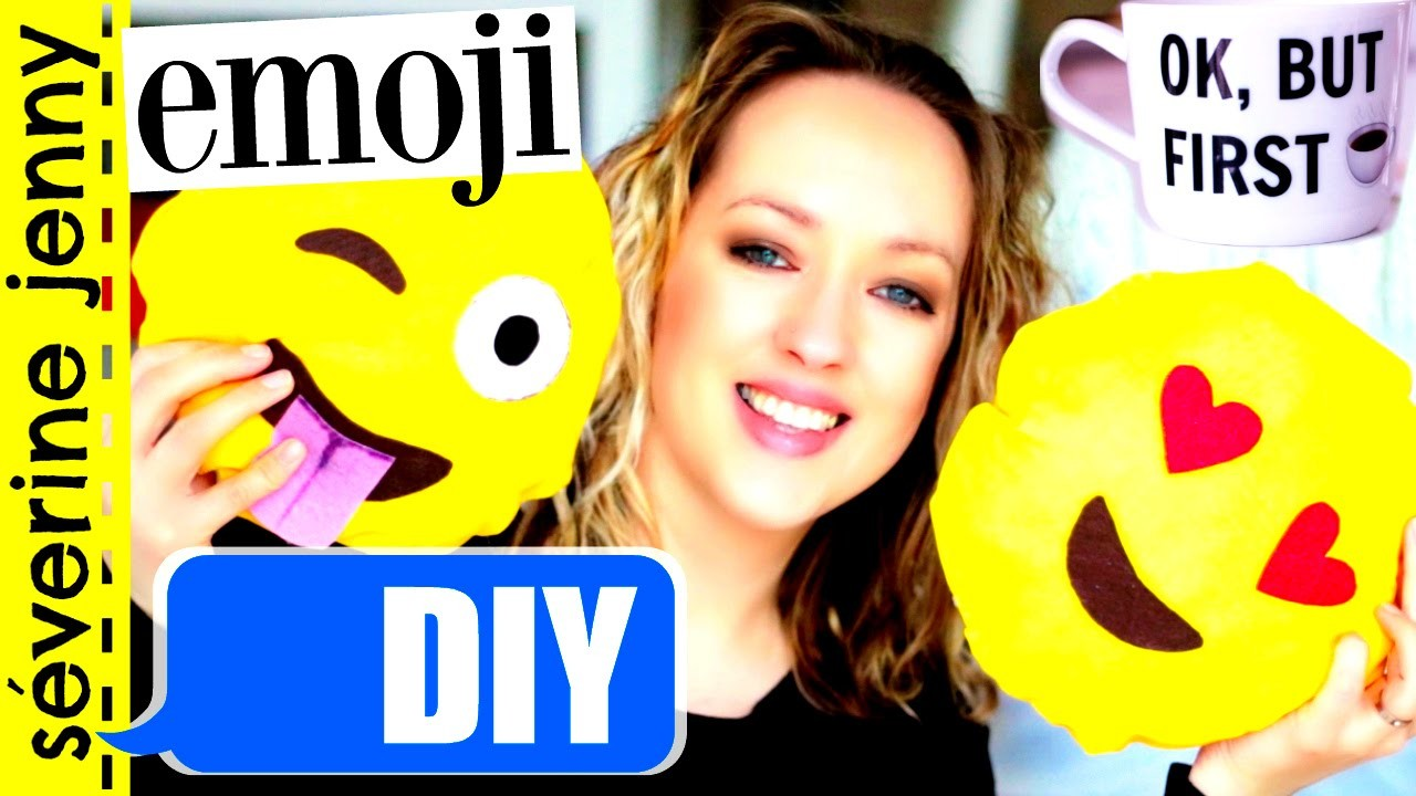 DIY Emoji : Room Decor. Decoration Chambre (français)