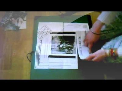 DIY  n°1 Créer un mini album photo scrapbooking