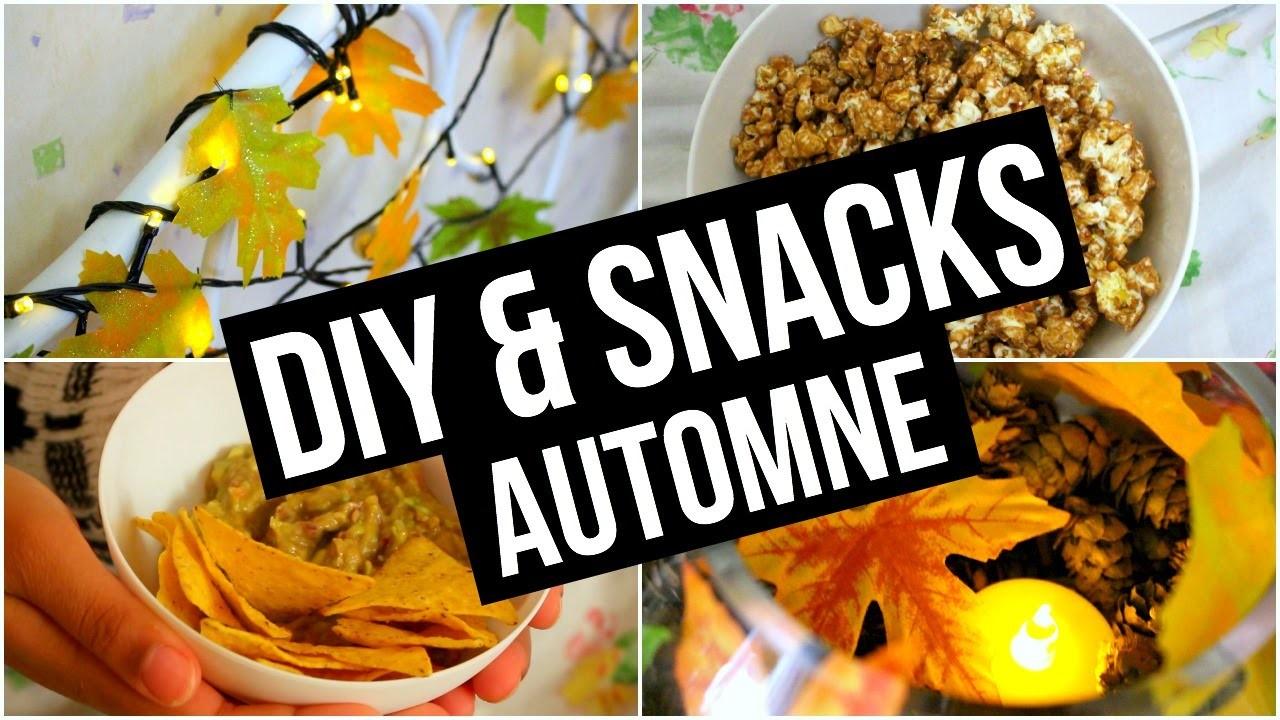 DIY & Snacks ♡ Automne. Fall I DIY Français